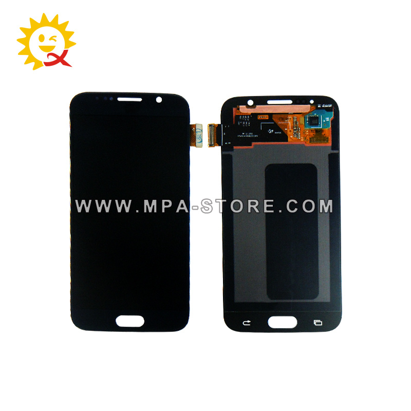 S6 Mobile Phone LCD Display for Samsung