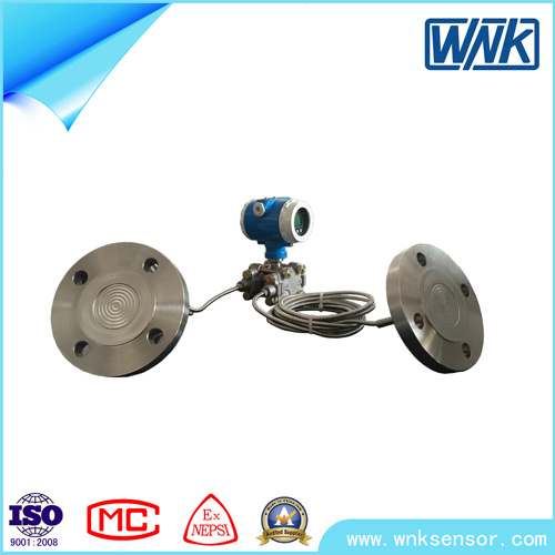 Remote Control Double Flange Differential Pressure Transmitter