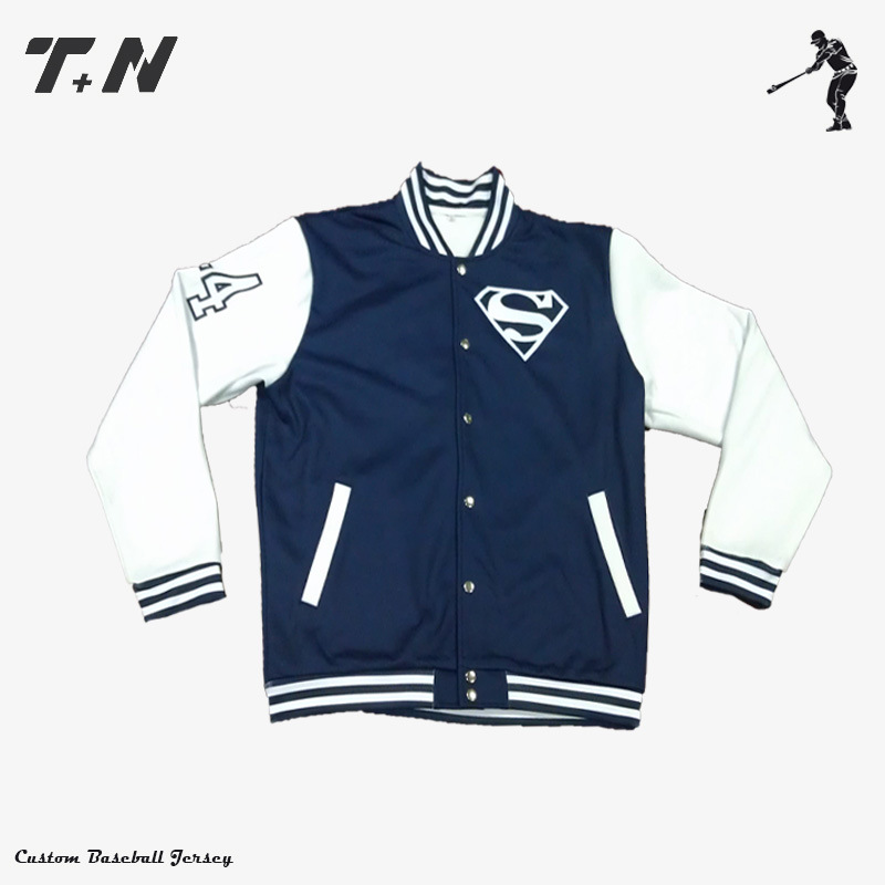 Healong Sublimation Print Custom Made Custom Baseball Varsity Jacket PRO