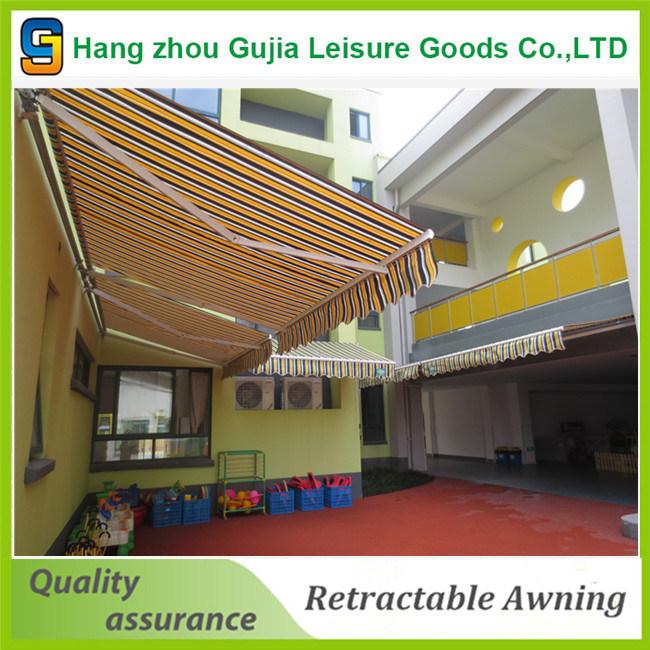Flexible Retractable Adjustable Patio Door Awnings