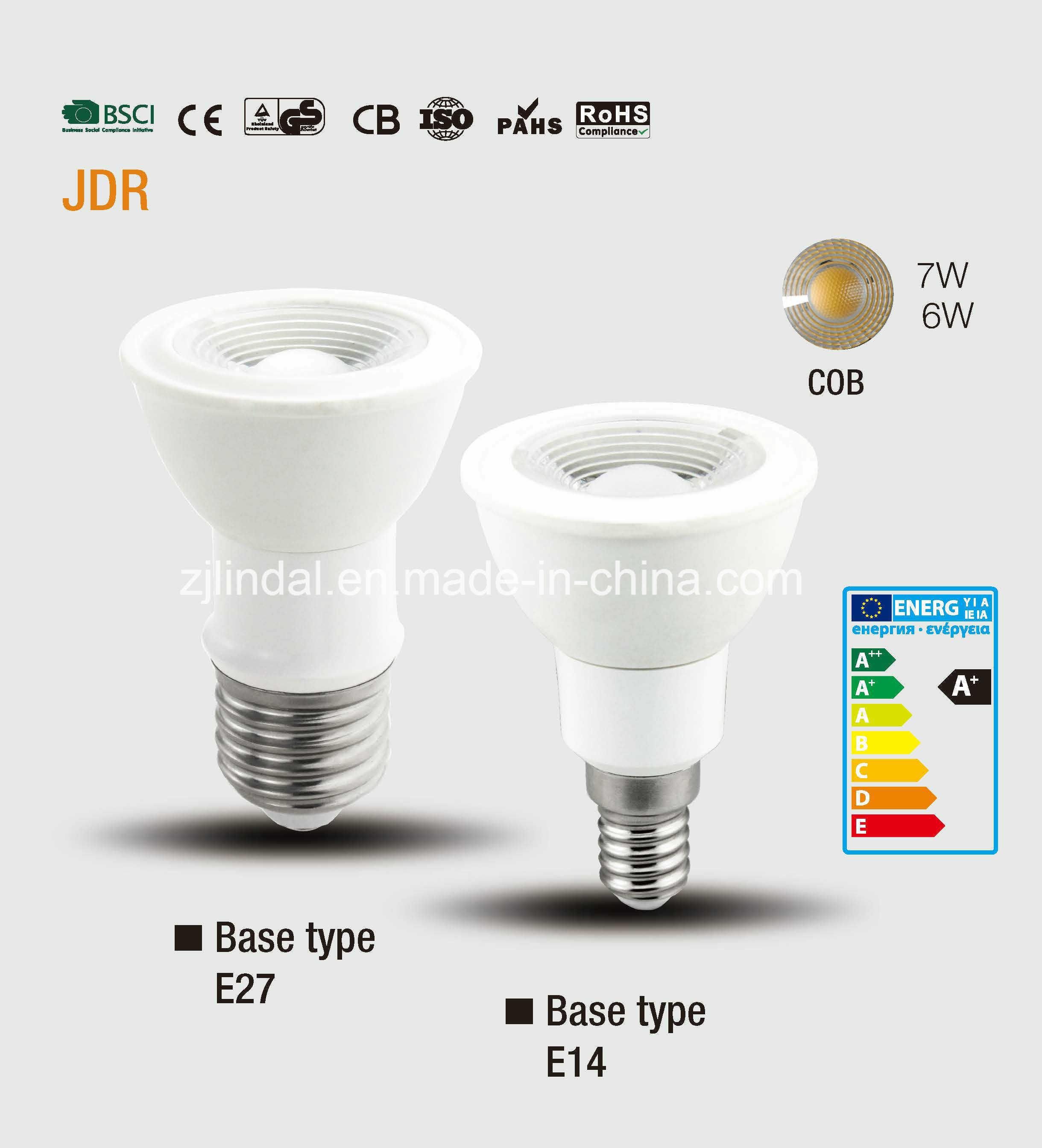 LED Bulb JDR-Sbl