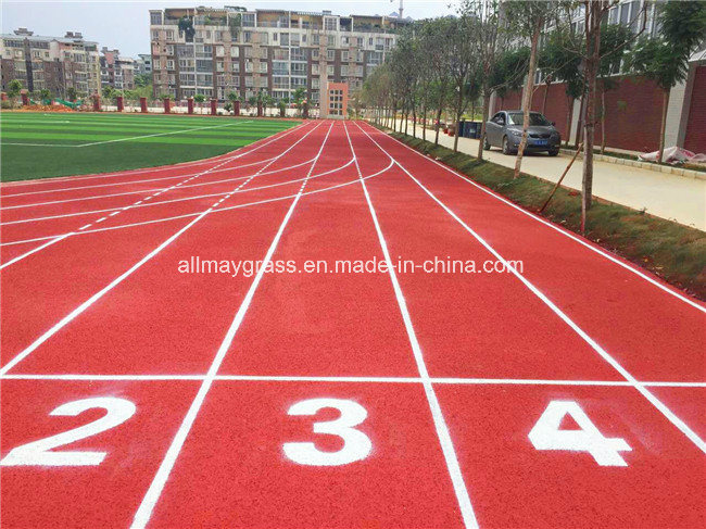 Eco Friendly School Synthetic Rubber Running Track Surface From Factory