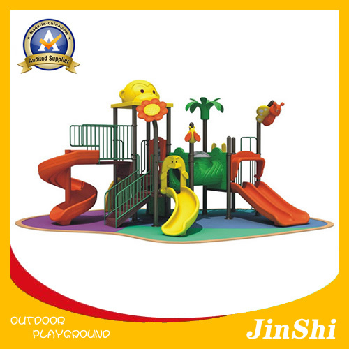 Animal World Series Children Outdoor Playground, Plastic Slide, Amusement Park GS TUV (DW-006)