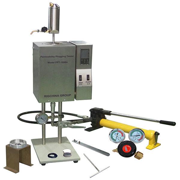Permeability Plugging Apparatus Hthp