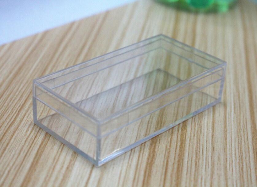 Small Retangle Clear Plastic Box