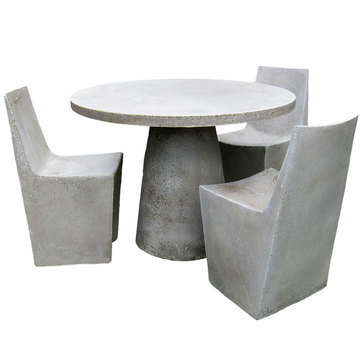 China Cement Furniture Concrete Chair Grc Furniture Rc 005 China Cement Furniture Concrete
