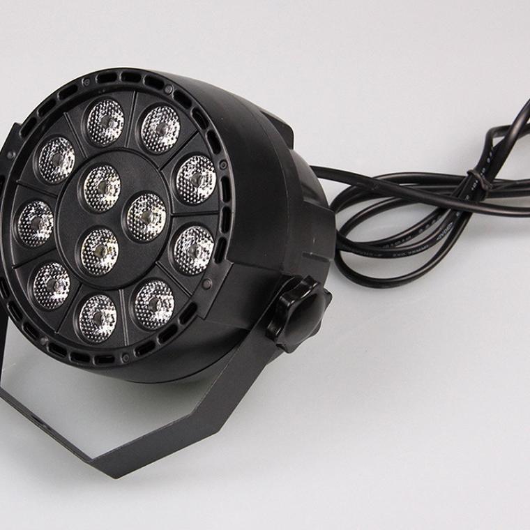 Hot Sale 12W RGBW LED Stage PAR Light Voice Control Colorful Disco Spotlight Stage Light for Disco DJ Party Show