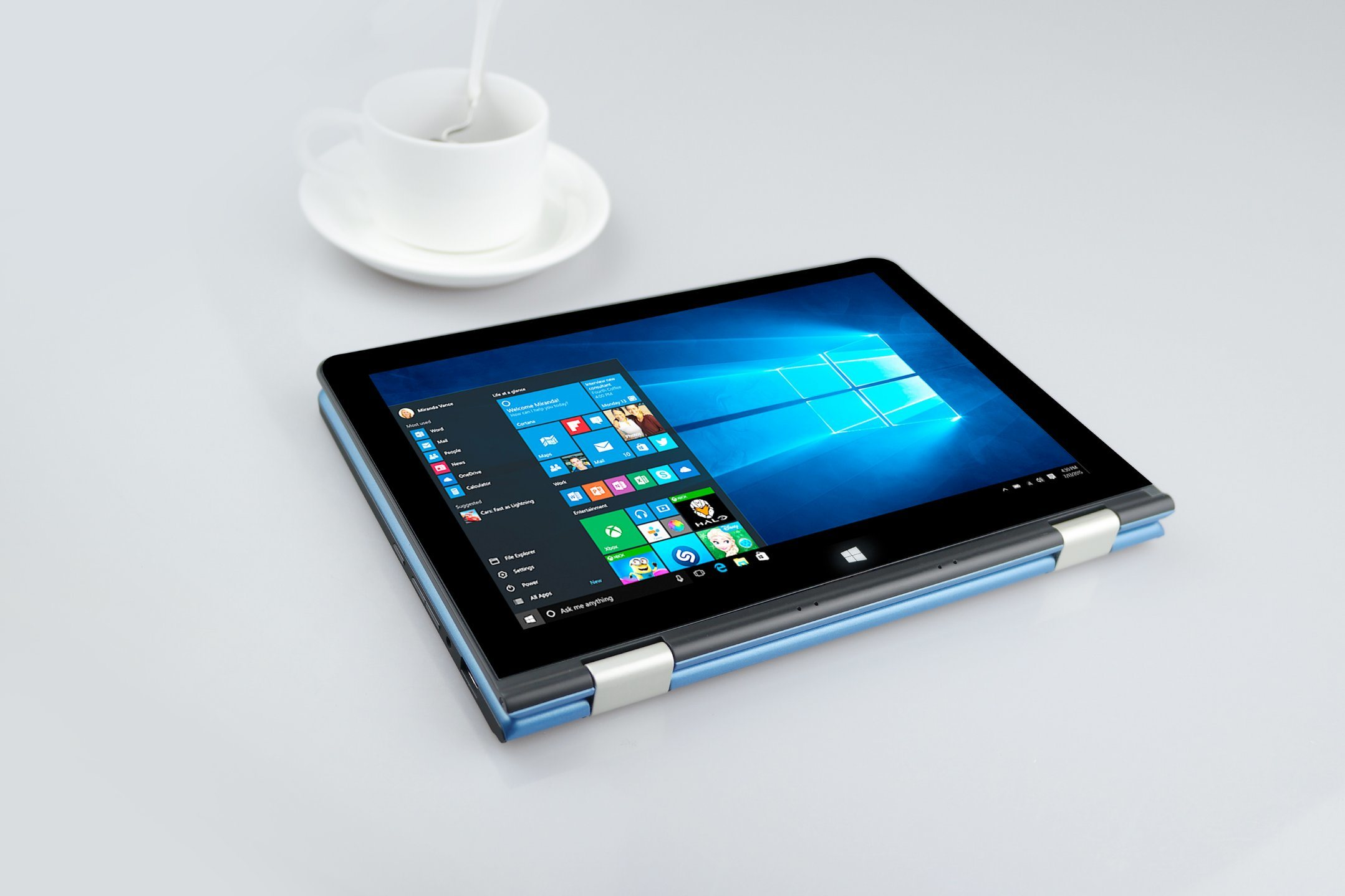 Best Laptops Windows and Andriod 10.1 Inch IPS, Mipi, Resolution 800*1280 Yoga Laptop with 4G Lte