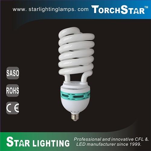 8000hrs Long Lifetime PBT 80W Tri-Phosphor Compact Fluorescent Lamp