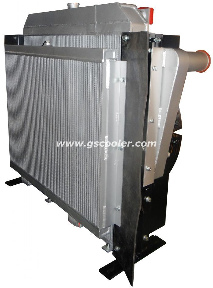 Aluminum Complete Cooling System for Loader (C890)