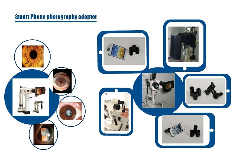 Android Smart Phone Photography Adapter for Slit Lamp