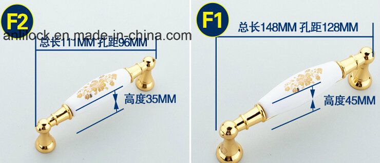 Wardrobe Handle, Cabinet Handle, Drawer Handle, Al-F1-6