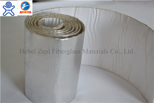 Fiberglass Sleeving Coated Aluminium Foil Tape