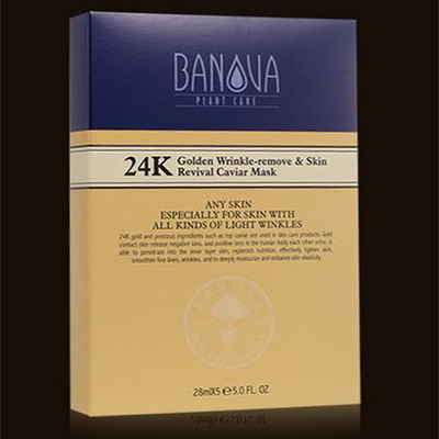 OEM Manufacture 24k Gold Moisturizing Facial Mask
