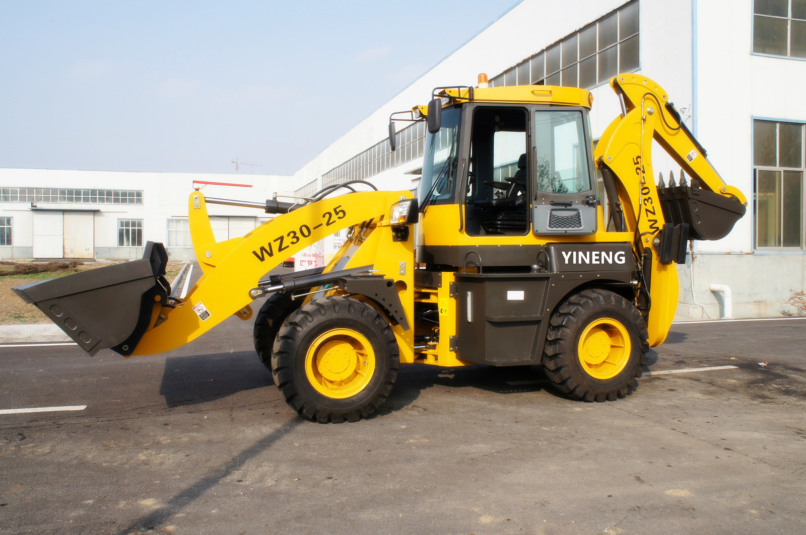 Backhoe Wz30-25 Wheel Loader Yineng