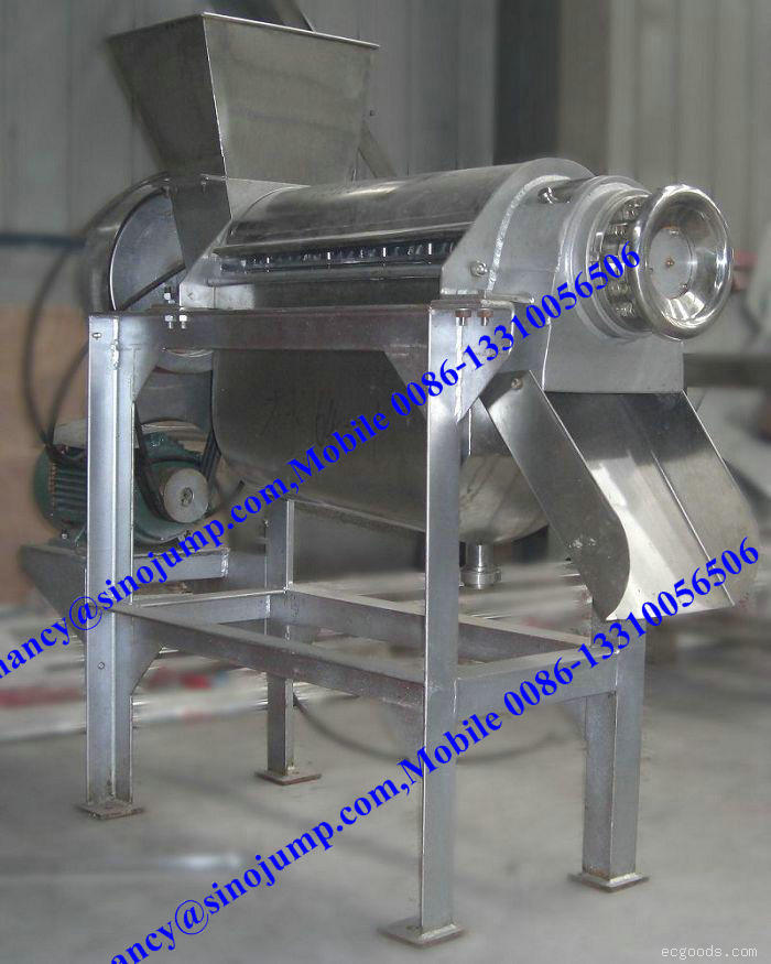 High Speed Fruit Pulper/Single Stage Fruit Pulper