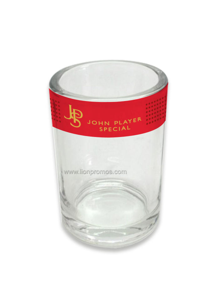 Cigarret Promotional Gift Frosted Glass Candle Holder