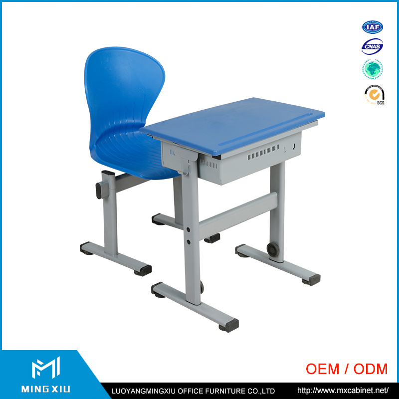 Luoyang Supplier Comfortable School Desk and Chair / Desks and Chairs Sets