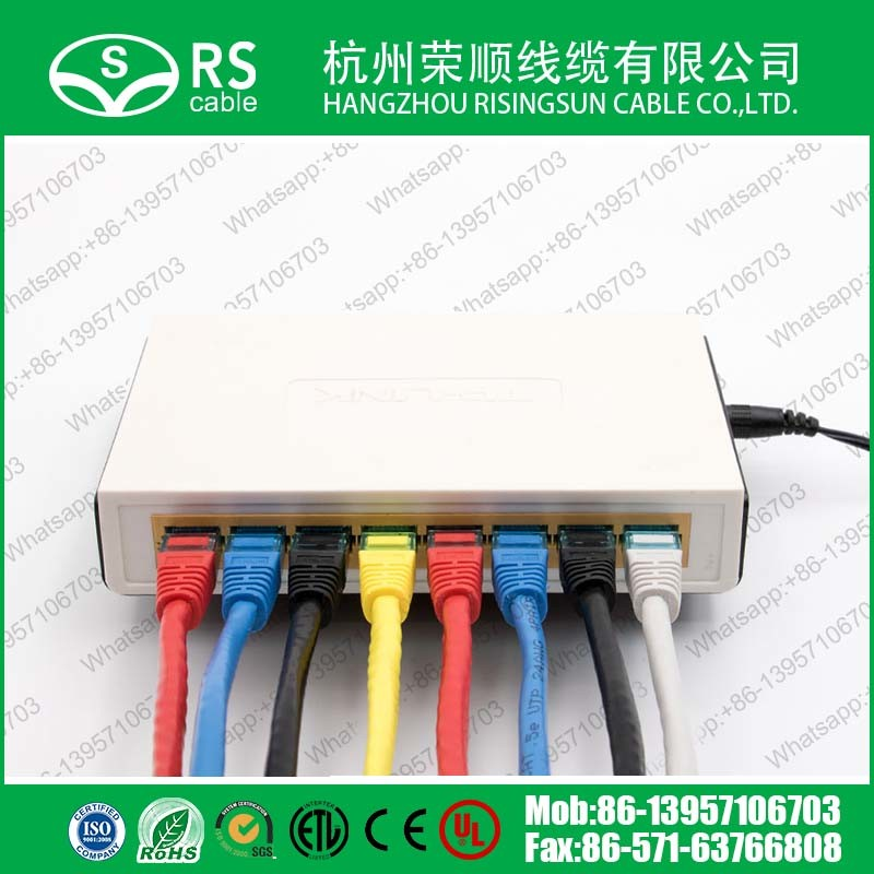 Cat5e UTP/FTP/SFTP RJ45 Patch Cord Network LAN Cable