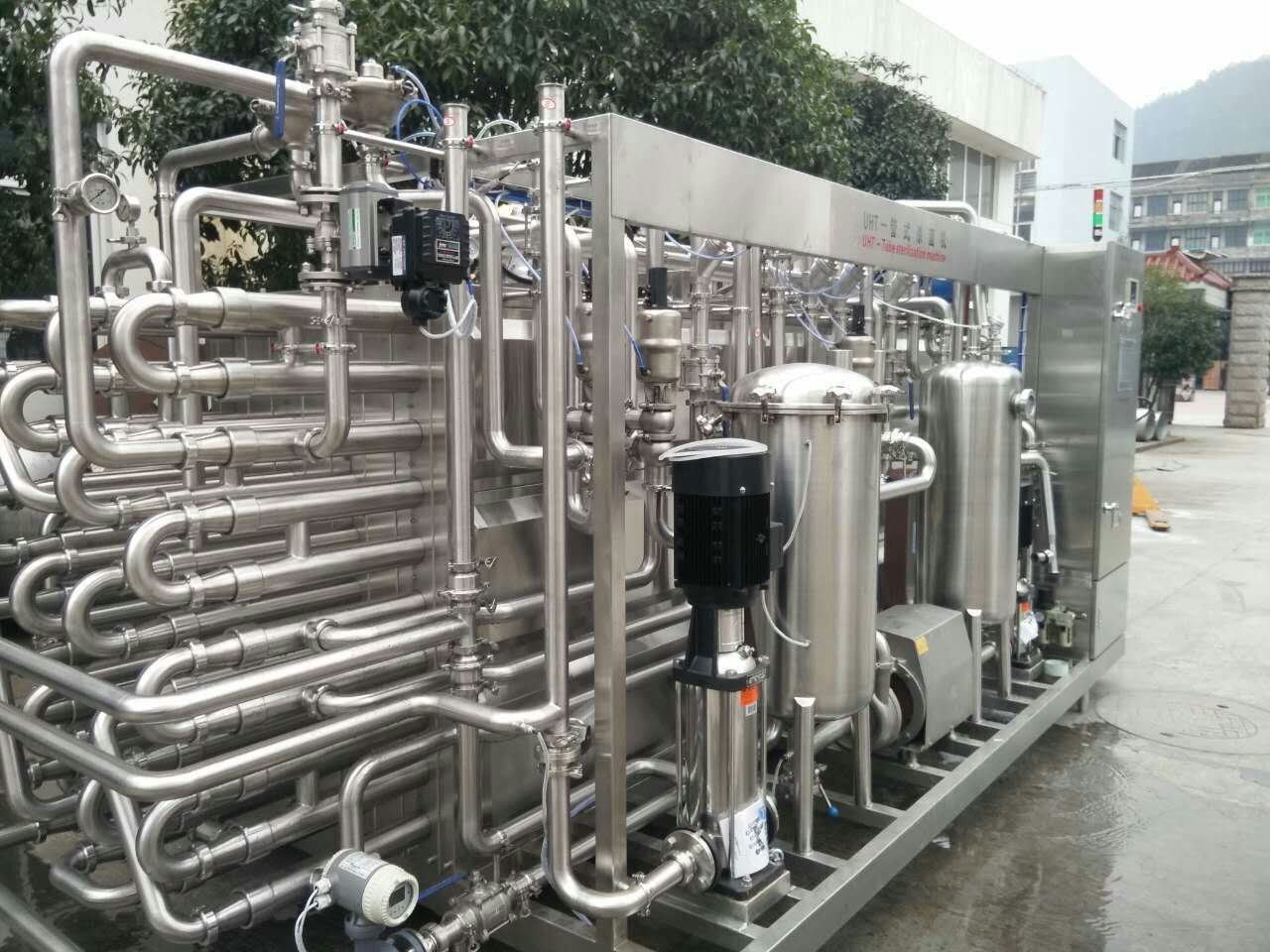 Full Automatic 3000L/H Milk Uht Sterilizer