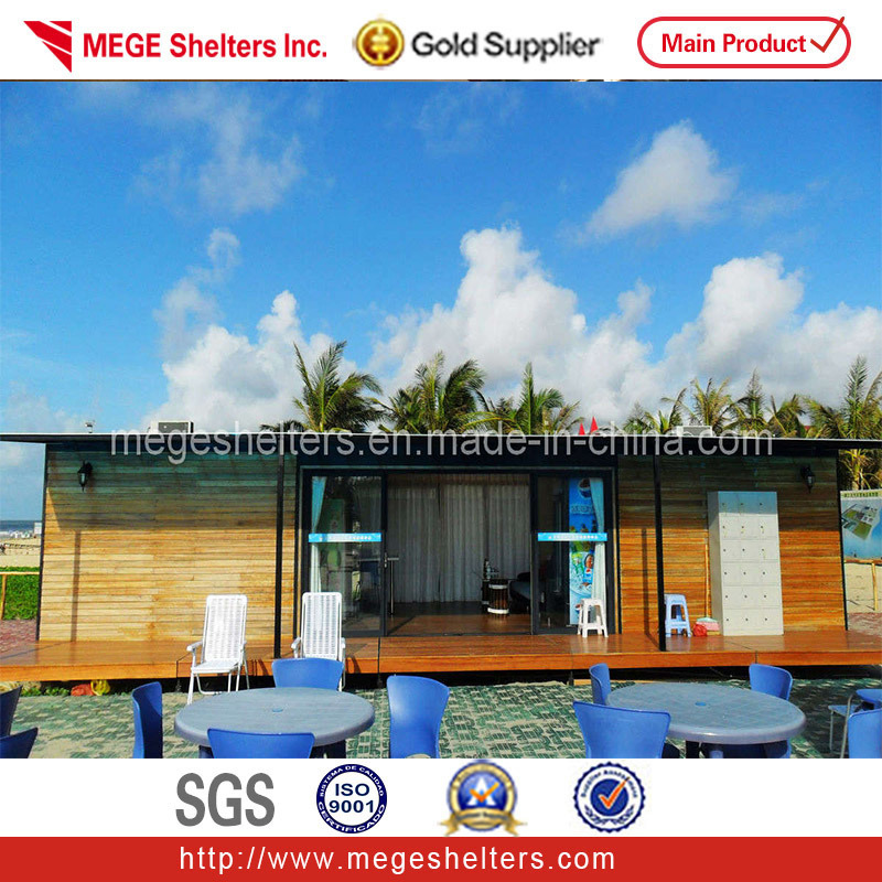 China prefabricated container house home villa ch03 for Villa container