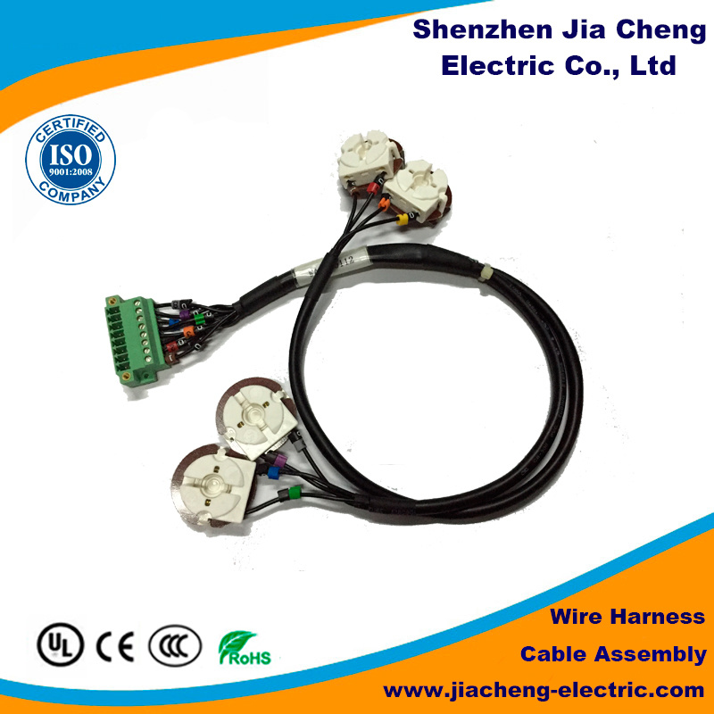 Most Popular Different Color Auto Wire Harness for Home Appliance