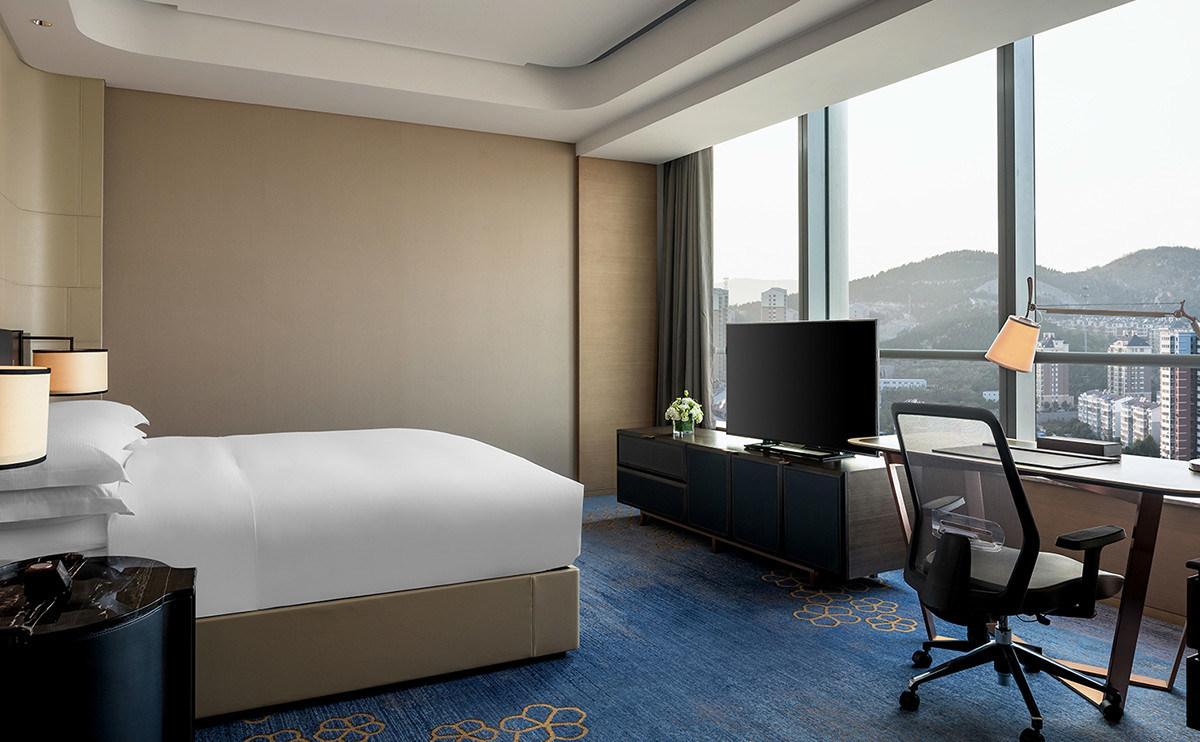 5 Star Hilton Luxury Hotel Bedroom Furniture/King-Size Hotel Furniture/Luxury 5 Star Suite Hotel Bedroom Furniture- (GLB-20170831000)