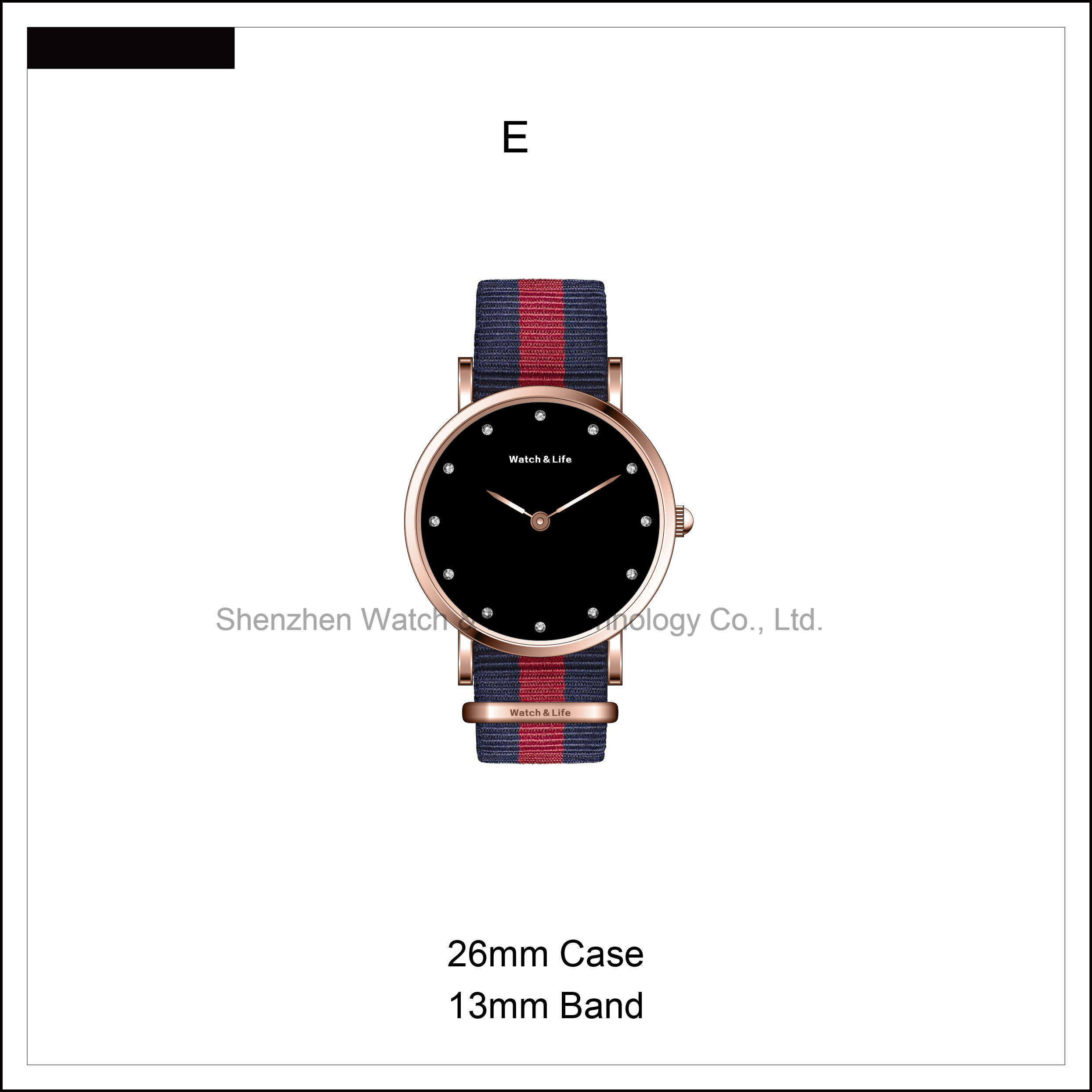 D Style Simple Watch Classical Fashion Watches