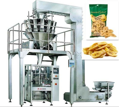 Dried Banana Automatic Vertical Packing Machine