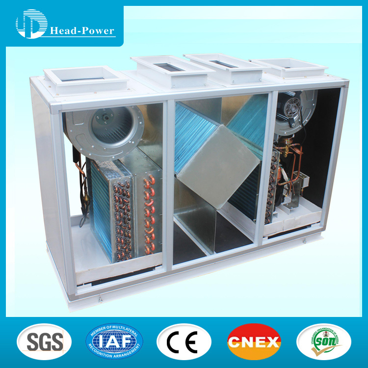 Fresh Air Heat Pump Combined with Energy Recovery Ventilator Units