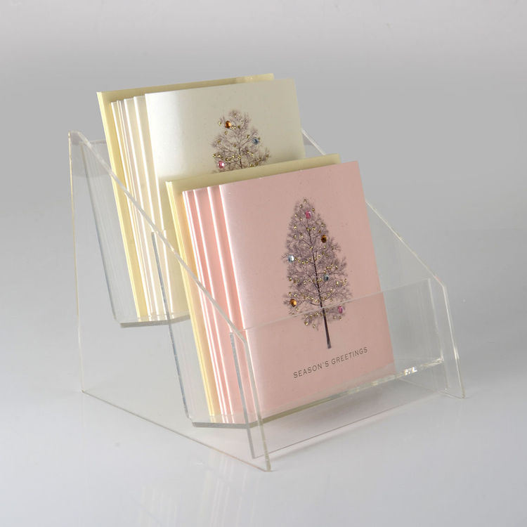 Greeting Card Acrylic Stand for Gift Cards and Similar Items