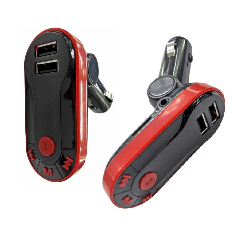 Dual USB Car Charger Handsfree Bluetooth Car MP3 Player FM Transmitter