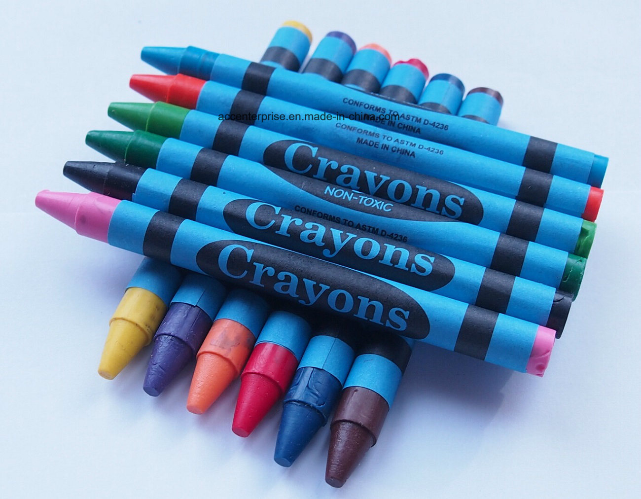 Wax Crayon, Super Jumbo Crayon, Jumbo Crayon, Regular Crayon (ACC-2007)