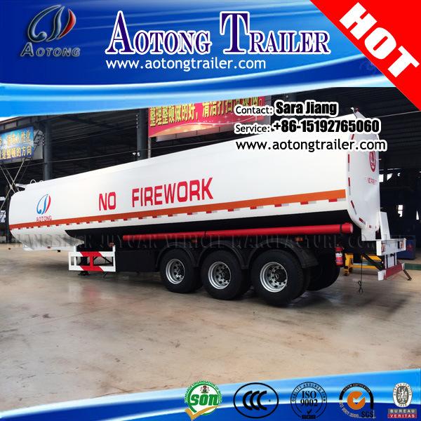 20-55cbm Fuel/Oil /Water Tanker Semi Truck Trailer for Sale