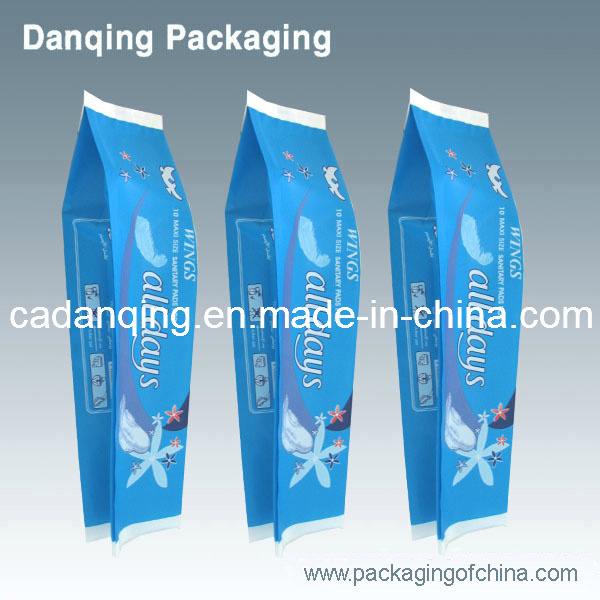 Plastic Packaging for Sanitary Towel, Packing Bag