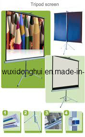 Tripod Projection Screen/Projector Screen/Foldable Projection Screen