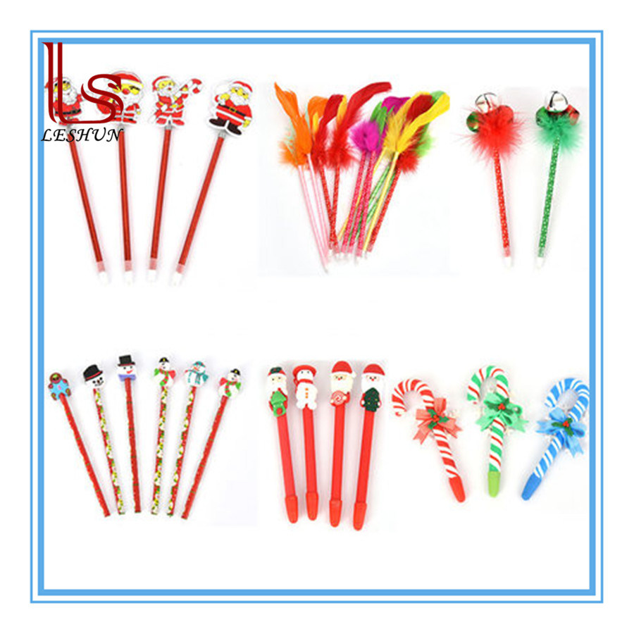 Christmas Gift Stationery Lovely Children Baby Gift Pencil Christmas Ballpoint Pen Prizes