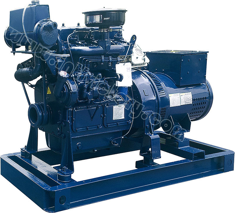 20kVA~125kVA Weichai Huafeng Marine Diesel Generator with CCS Certification