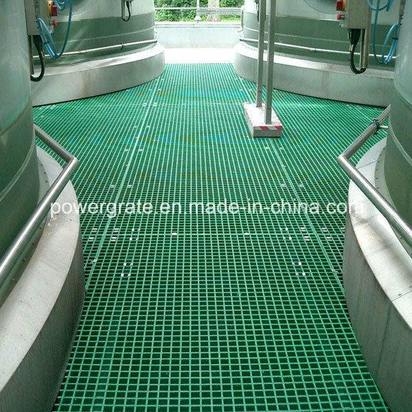 Fiberglass Plastic Floor FRP Grating Molded