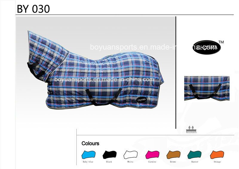 Waterproof and Breathable Turnout Horse Rug Equestrian Products for Wholesale