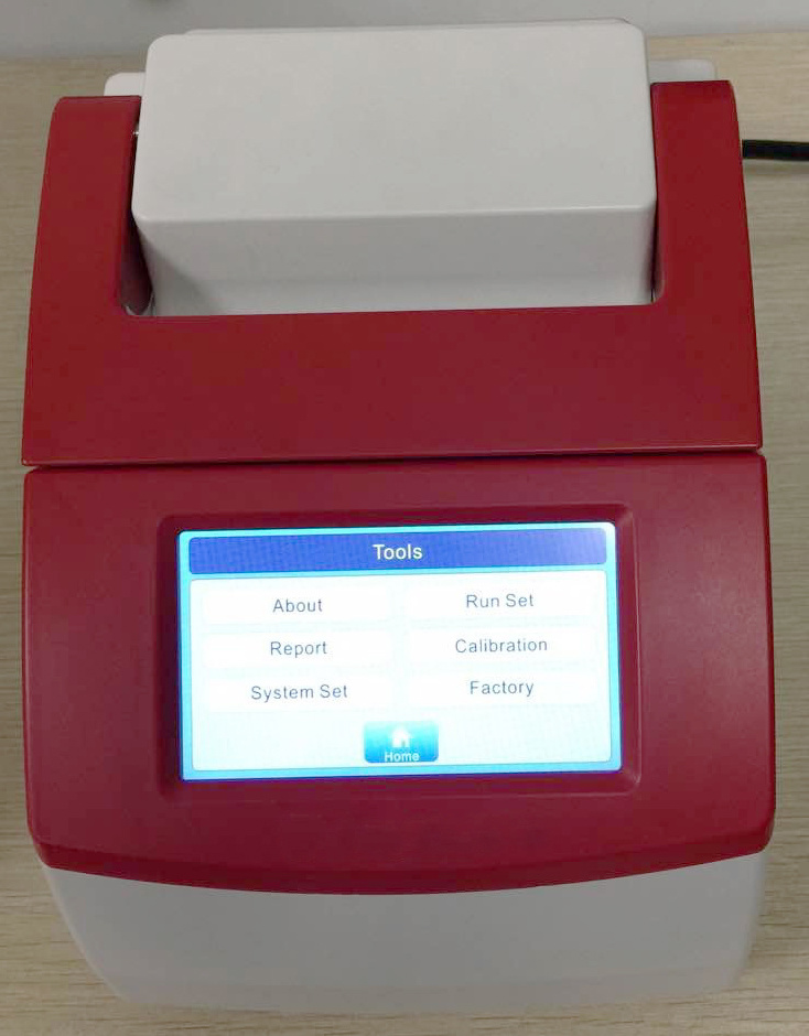 Thermal Cycler Touch Screen PCR Lab Equipments Thermal Cycler (RAY-TC321)