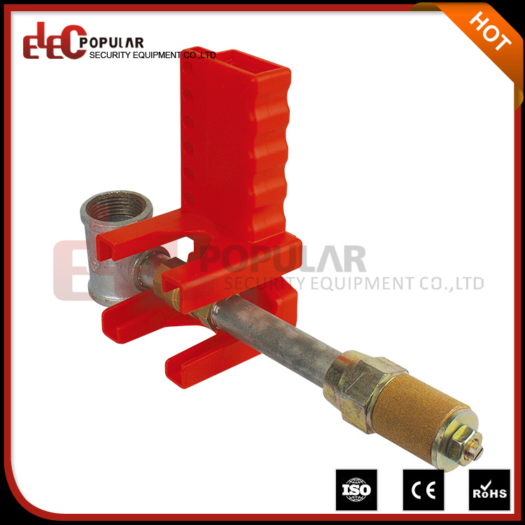ISO Certificated Explosion-Proof Adjustable Ball Valve Lock out