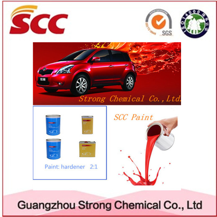 Univeral Car Paint, Basecoat, Hardener Use Thinner