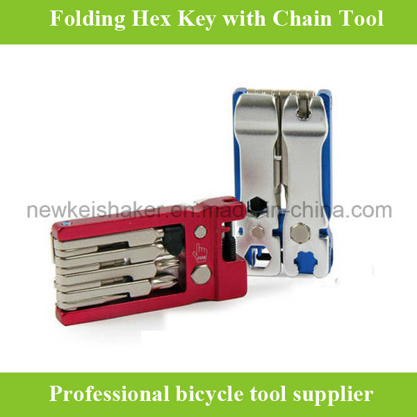 High Quality Bicycle Hex Key Wrench with Alloy Cover
