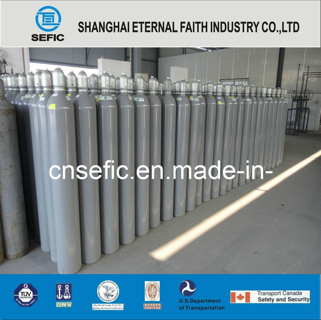 Sf6 Gas Cylinder Sulfur Hexafluride 99.99%