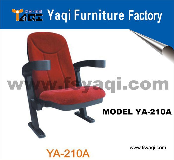 Cheap Conference Seat Cinema Chair Theater Seating Hot Sale Chair Cinema Seat (YA-210A)