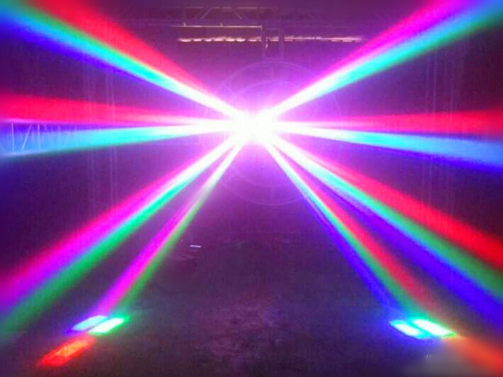 8*12W CREE Beam LED Moving Head Spider DMX Lighting