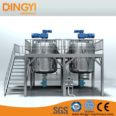 1000-5000L Shampoo Production Line Making Machine