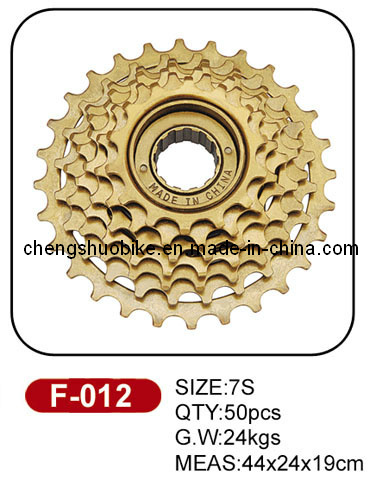 durable 7 speed freewheel F-012