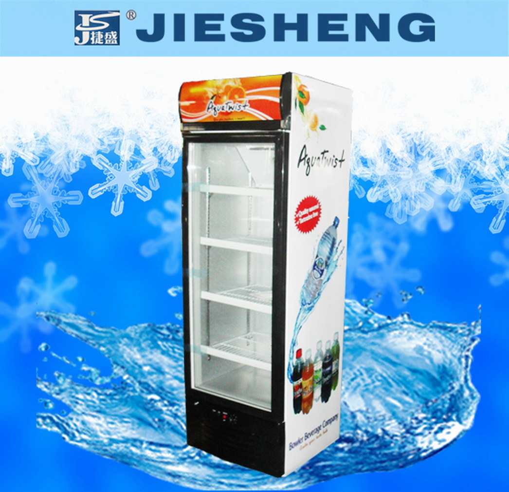 Upright Refrigerated Showcase Cooler (LSC-338)